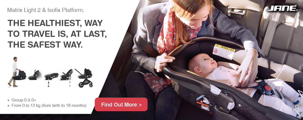 Matrix Light 2 lie-flat car seat by Jane