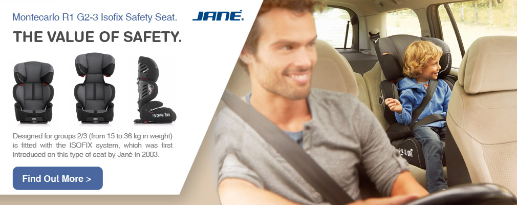Montecarlo R1 Isofix G 2-3 car safety seat by jane