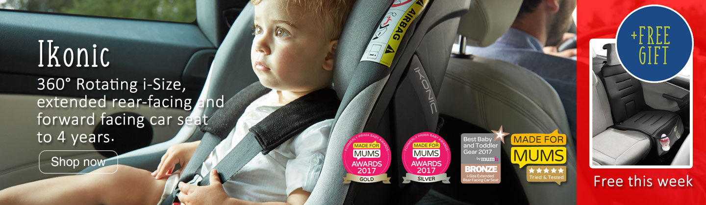 Jane Ikonic i-Size 360 rotating car safety seat