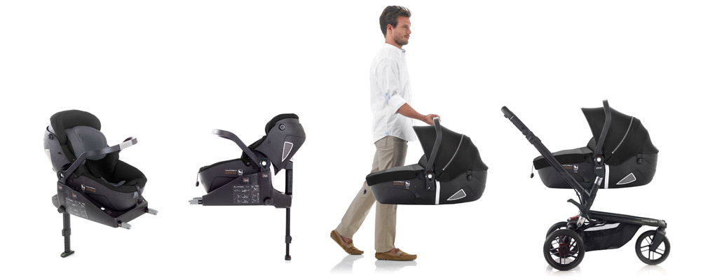 iMatrix i-Size - Safest i-Size car seat that turns into a carrycot in the world