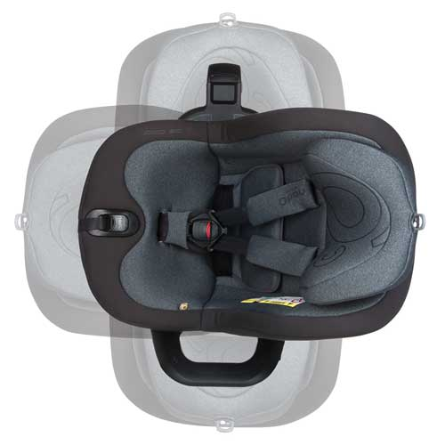 360 degrees rotating seat unit