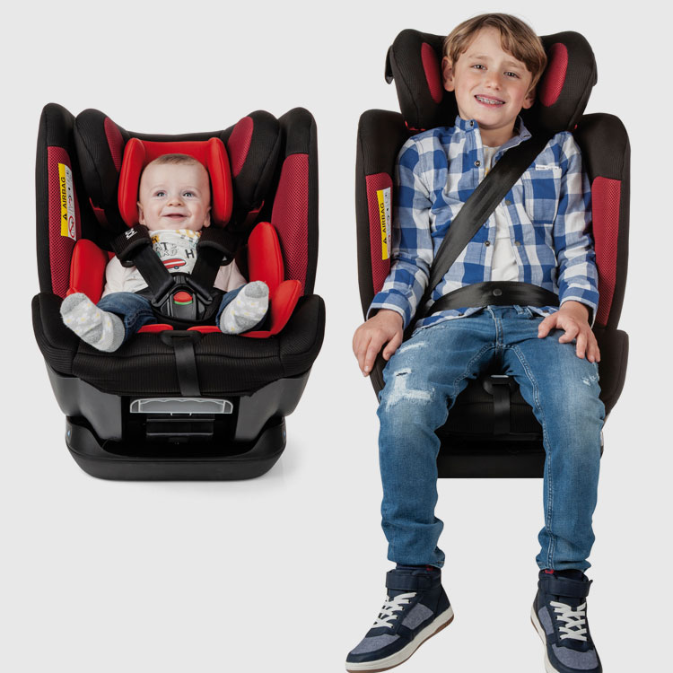 Be Cool ALL ABOARD 0-12 years car seat system