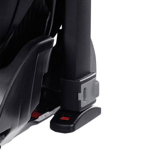 Isofix + anti-rotation leg