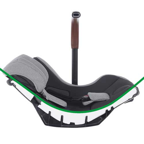 lie-flat car seat