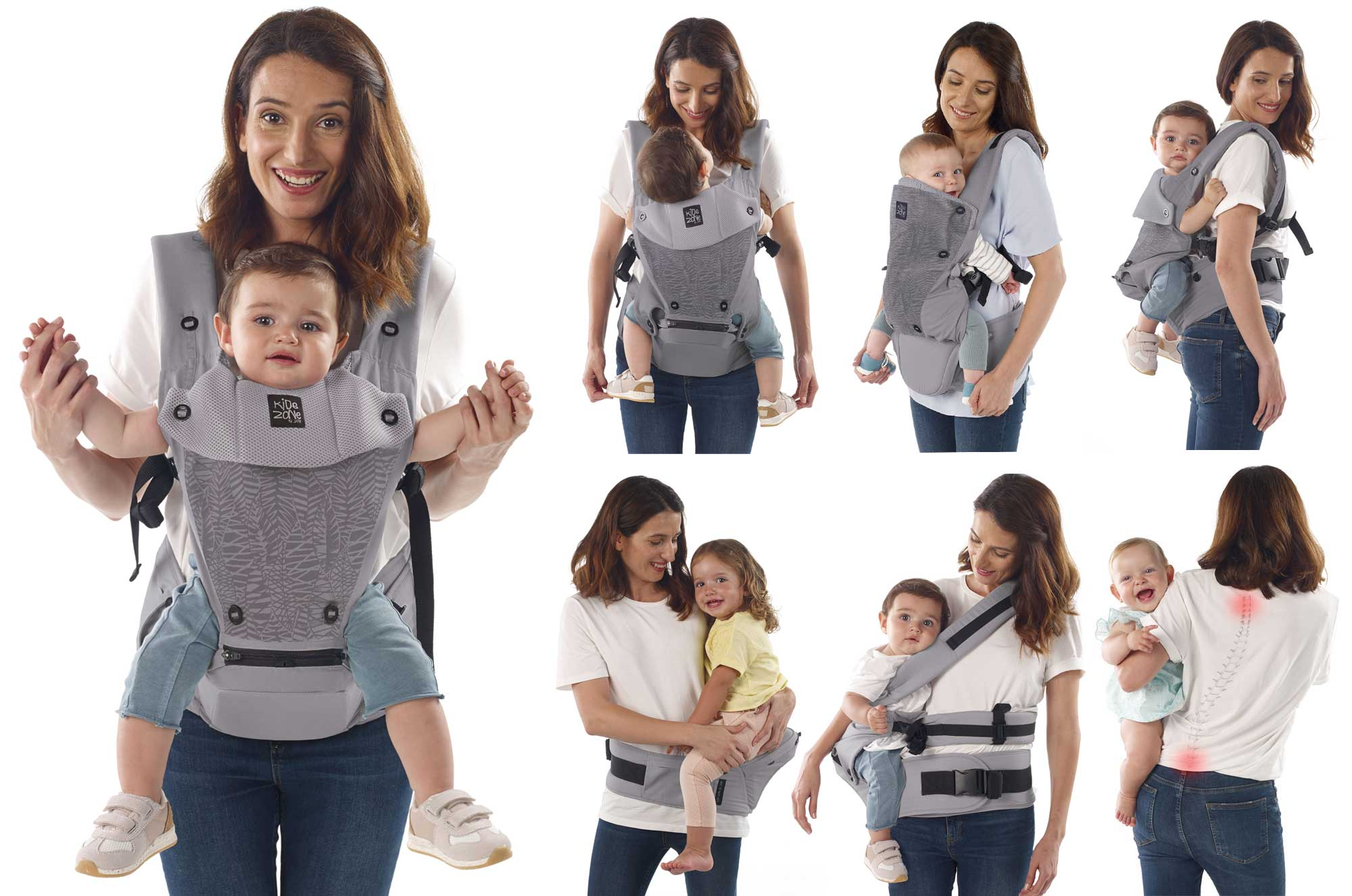 Revolution baby carrier multi-positions