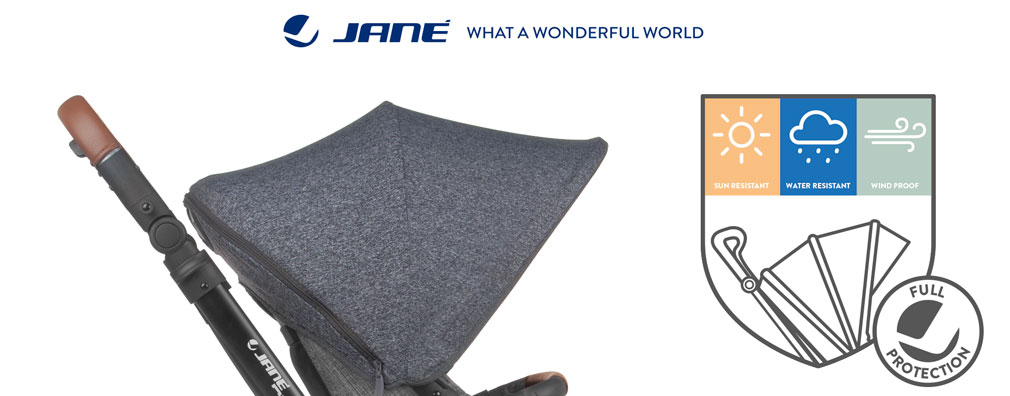 The new Jané hoods: maximum protection!