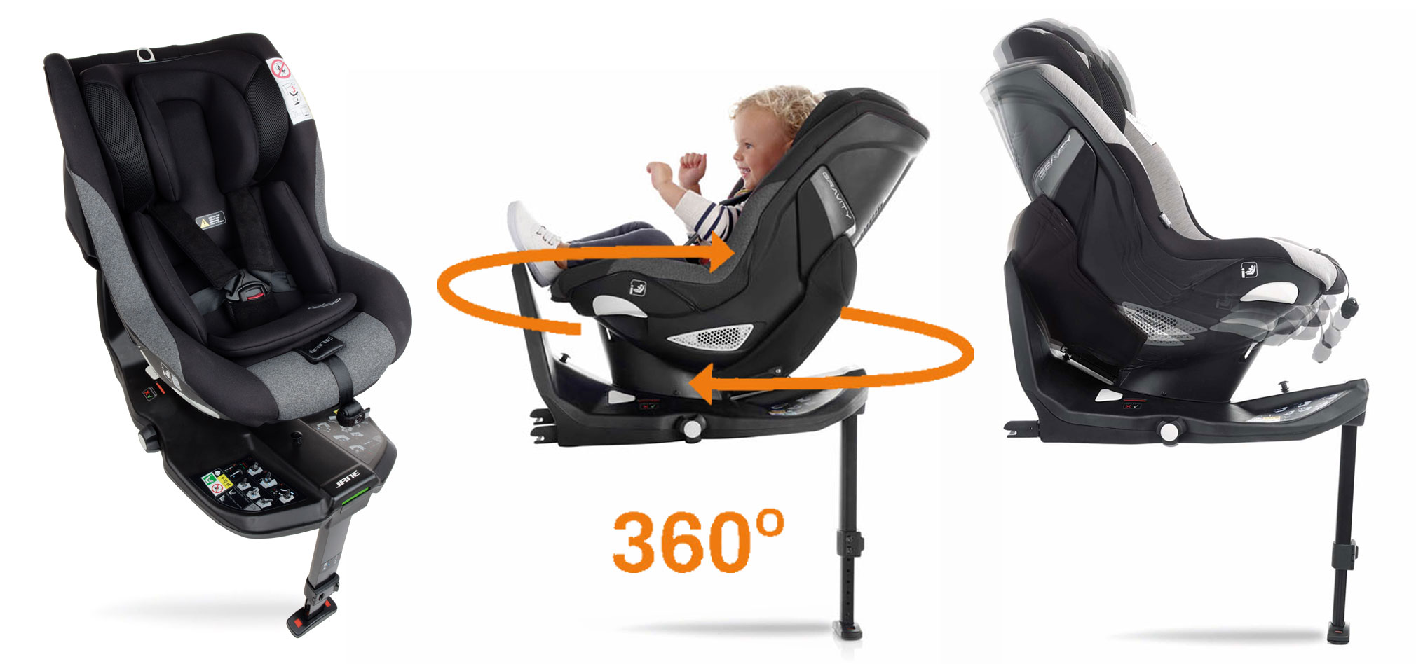 Gravity iSize 360 car seat
