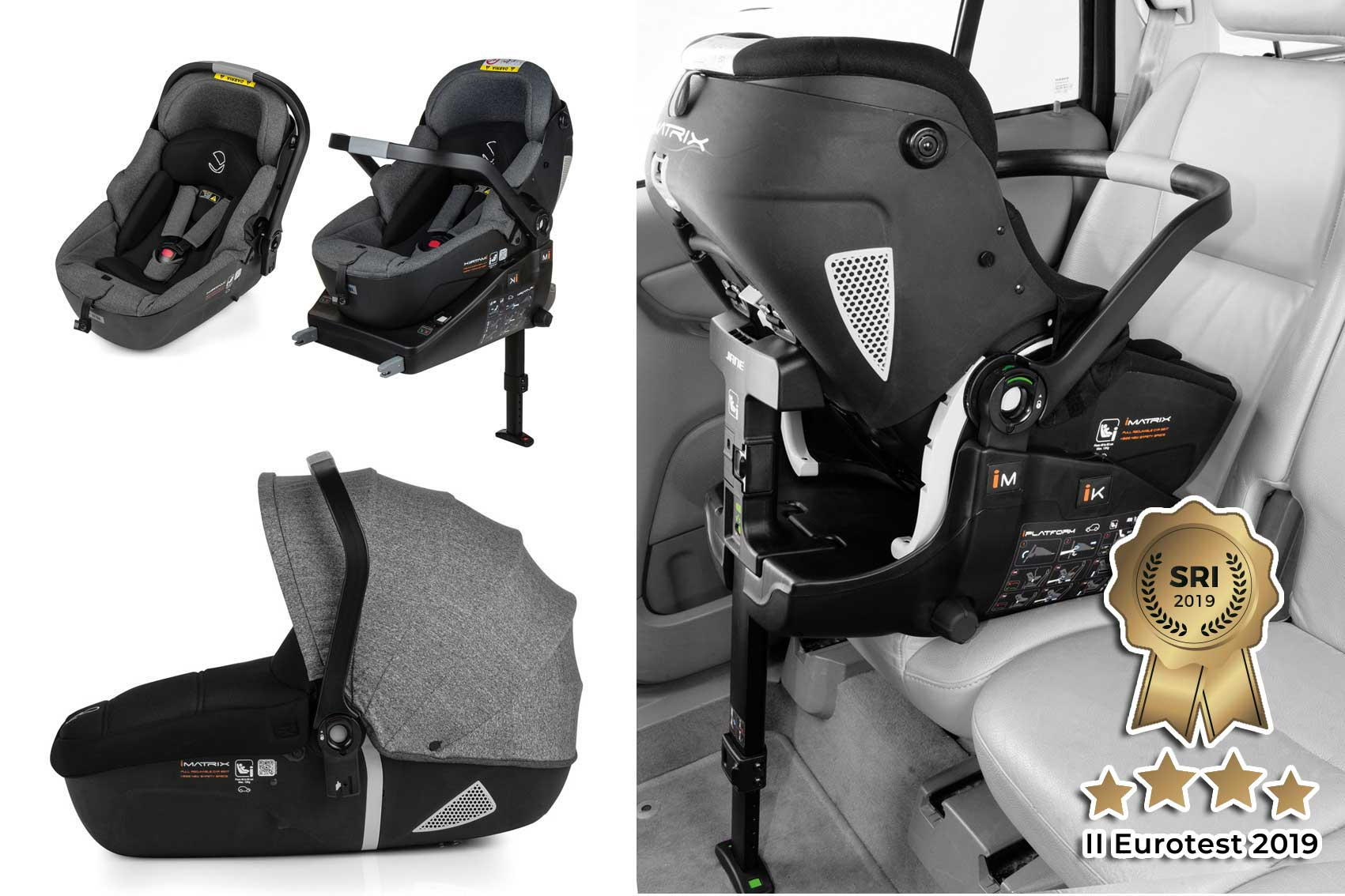 iMatrix iSize Car Seat and Carrycot system