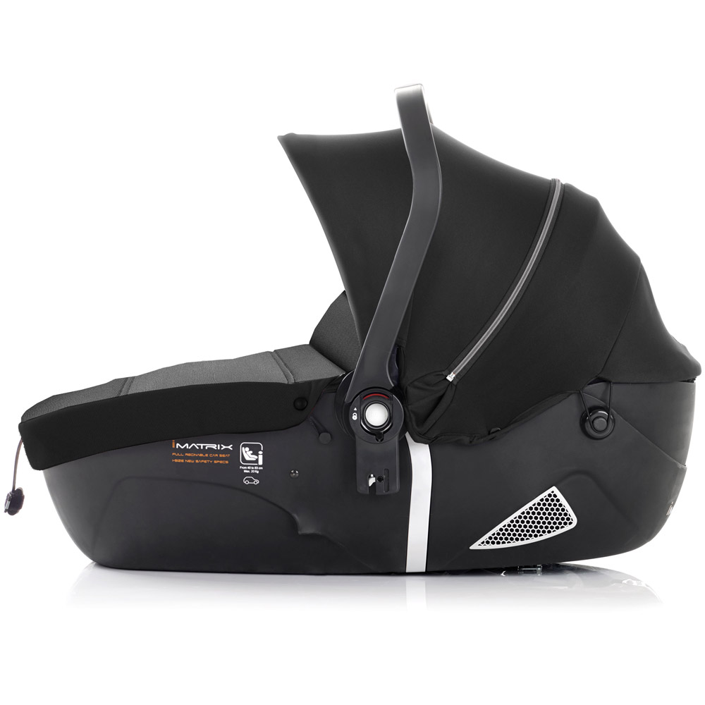 iMatrix iSize as a lie-flat carrycot