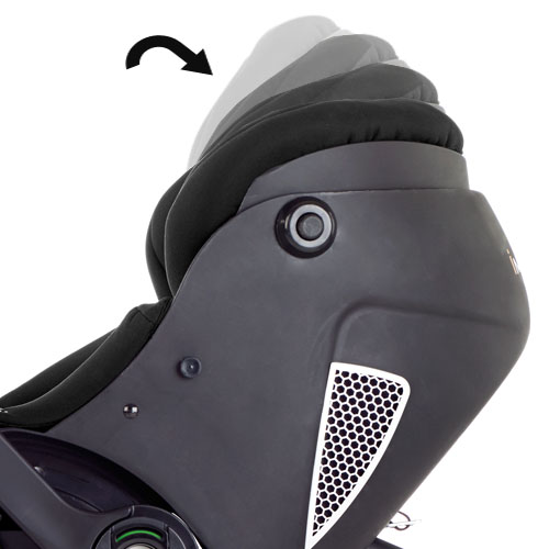 Retracting head protector for growing child