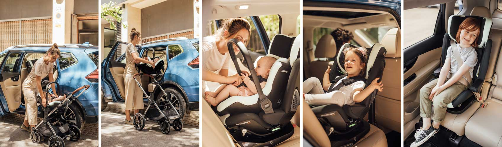 Jane Groowy + Nest i-size car seat
