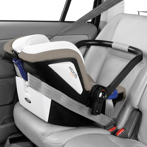isize Isofix to optimise babys safety