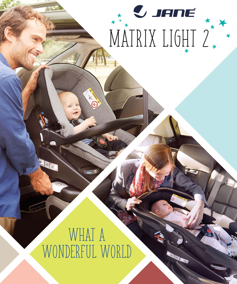Matrix Car Seat and Carrycot system