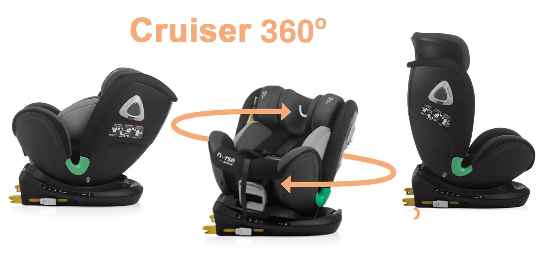 Nurse Cruise360 i-Size car seat