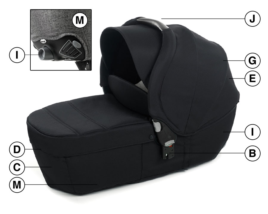 Transporter Plus carrycot