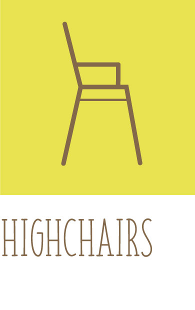 Highchairs and meal time