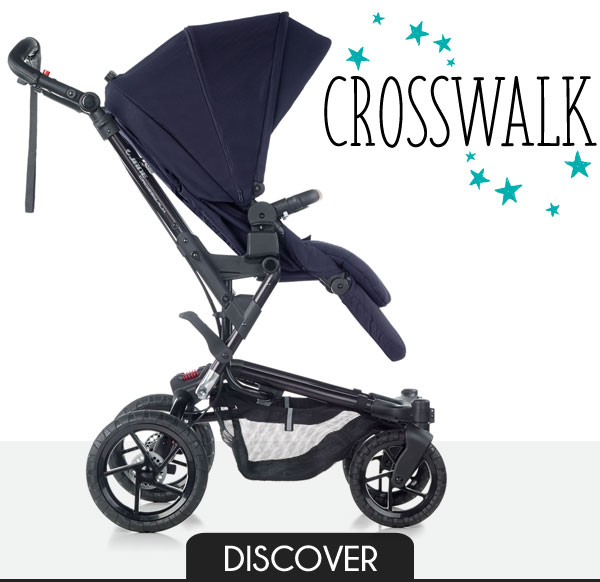 Jané Crosswalk - The authentic all-terrain pushchair