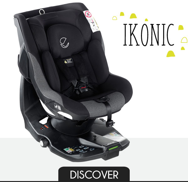 iSize Car Seat with 360 Degrees Rotation