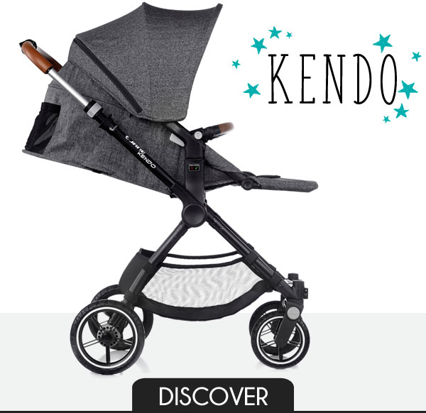Kendo - The new urban-outdoor pushchair from Jané