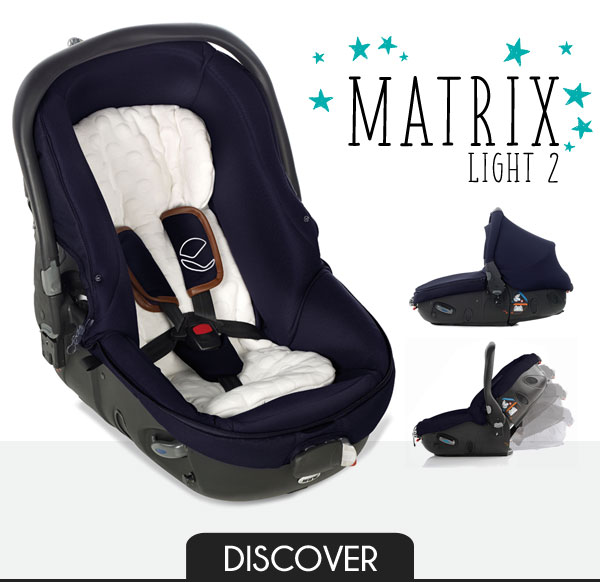 Jané Matrix Light 2 - The world's safest, healthiest all-in-one carrycot and car seat.