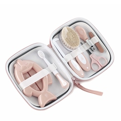 Jane Deluxe Baby Hygiene Set with Toilet Bag (Option: Pink)
