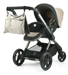 Jane Twin Mama Pram Bags (Option: Memories)
