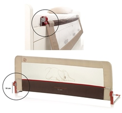 Jane Foldable Bed Rail for Compact Beds,150cm