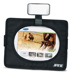 Jane Tablet and Safety Mirror (Option: )