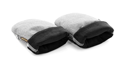 Jane COLD-PROTECT mitts for pushchair (Option: Soil / Grey)