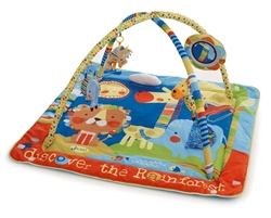 Jane Activity Playmat with Removable Bars and Toys
