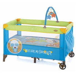 Jane Duo Level Travel Cot & Toys