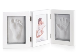 Jane Photo Frame 3 Seg, Hand or Footprint