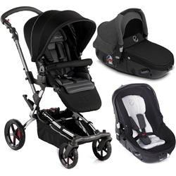 Jane Epic + Matrix Travel System, Black - Chrome