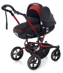 Jane Crosswalk R + Matrix Travel System, Red