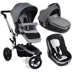 Jane Trider + Matrix Travel System, Soil - Chrome