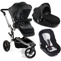 Jane Trider + Matrix Travel System, Black II - Chrome