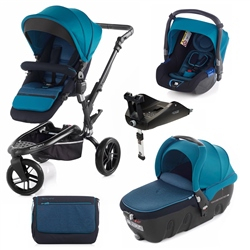Jane Trider + Transporter 2 + Koos + Isofix Base, Teal