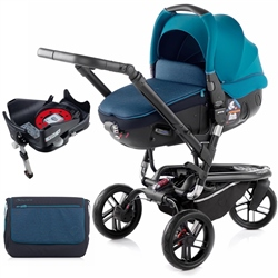 Jane Trider + Matrix + Isofix Base, Teal