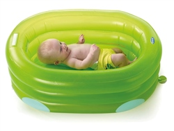 Jane Deluxe Inflatable Bath with 4 Positions​ - Green & Blue