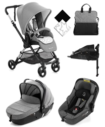 Jane Minnum City + iMatrix Travel System, Rocks