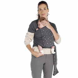 Jane Cocoon Baby Wrap Sling (Option: Grey Land)