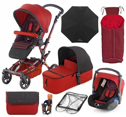 Jane Epic 10 Piece Bundle, Red
