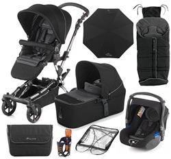 Jane Epic 10 Piece Bundle, Black - Chrome