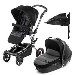 Jane Epic + iMatrix + Isofix Base, Black - Chrome