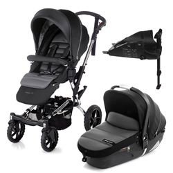 Jane Crosswalk + iMatrix + Isofix Base, Black - Chrome