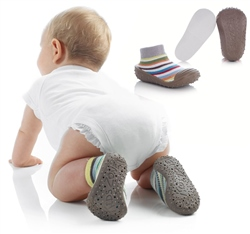 Jane Soki's First Steps Socks with Rubber Soles