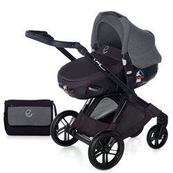 Jane Muum + Matrix Travel System, Jet Black