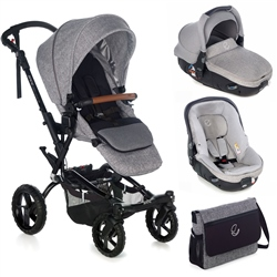 Jane Crosswalk R + Matrix Travel System, Squared