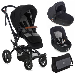 Jane Crosswalk R + Matrix Travel System, Jet Black