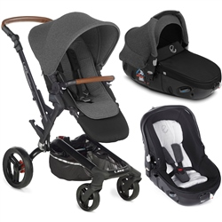 Jane Rider + Matrix Travel System, Jet Black
